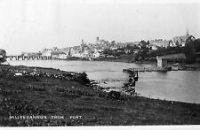 BALLYSHANNON FROM PORT DONEGAL IRELAND RP IRISH POSTCARD POSTED 17-OCT-1945