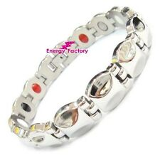 Female Magnetic Power Health Ion Bracelet 4in1 Ladies Bio Energy Armband