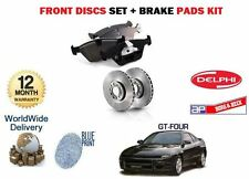 FOR TOYOTA CELICA GT4 2.0 & IMPORT 1989-1994 FRONT BRAKE DISCS SET & PADS KIT