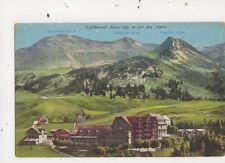 Luftkurort Stoos Mit Den Alpen [903] Switzerland Vintage Postcard 848a