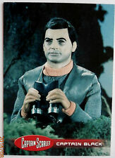 Captain scarlet-individuelle trading card #40, le capitaine black-imparable cartes