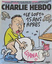 CHARLIE HEBDO No 12341de MAI 2016 TERRORISTE EN PRISON LE LOFT 15 ANS APRES