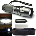 Zoom 3500LM XML T6 CREE 5 Mode AAA 26650 18650 Battery Flashlight Lamp LED Torch