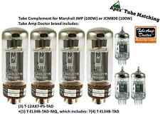 TubeAmp Doctor Premium Tube set for Marshall JMP 100W & JCM 800 100W & JCM 900