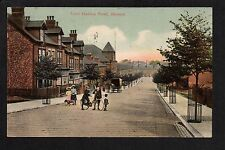 Ilkeston - Lord Haddon Road - colour printed postcard