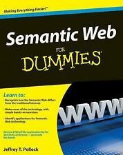 Semantic Web for Dummies® by Pollock and Jeffrey T. Pollock (2009, Paperback)