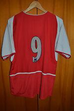 ARSENAL LONDON 2002/2003/2004 HOME FOOTBALL SHIRT JERSEY MAGLIA ENGLAND NIKE #9