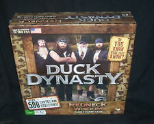 Duck Dynasty Redneck Wisdom Quotes & Trivia  Family Party Game Factory Sealed