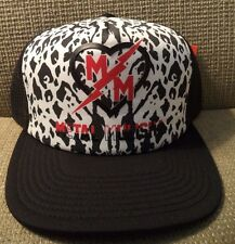 METAL MULISHA KICKSTART SNAPBACK SAMPLE CAP HAT *NU*