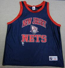 Logo 7 New Jersey NJ Nets Brooklyn NBA Tank Top Medium Basketball Jersey