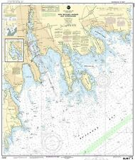 NOAA Chart New Bedford Harbor and Approaches 5th Edition 13232