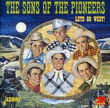 Lets Go West - Sons Of The Pioneers (2011, CD NIEUW)2 DISC SET