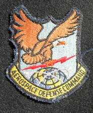 "AEROSPACE DEFENSE COMMAND SEW ON ONLY PATCH AIR FORCE SINCE 1946 3"" x 3 1/2"""