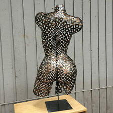 Metal Wall Art Abstract Sexy Sculpture Nude Torso Artist Holly Lentz