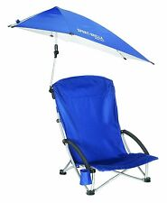 Shade Protection Recliner Portable Set Beach Camping Seat Chair Umbrella Sun NEW