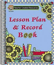 Sunflowers Lesson Plan and Record Book by Teacher Created Resources Staff...