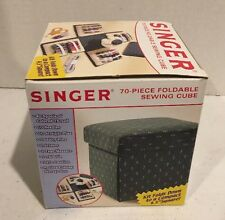 Singer Sewing Kit Cube 70 Pieces Thread, Needles, Pins BRAND NEW
