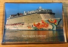 NCL Norwegian Getaway Large Fridge Magnet Cruise Ship