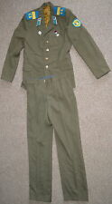 Soviet USSR Russian Military Army Air Force Soldier Field Uniform Jacket + Pants