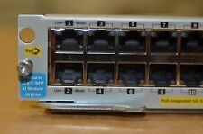 J8705A HP ProCurve 20 Port PoE 4-mini Gbic ZL Switch Module 5406zl 5412zl 5400