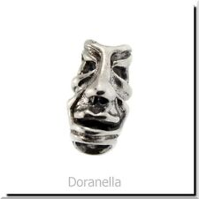 Authentic Trollbeads Sterling Silver 11265 Fabled Faces :1 RETIRED 27% OFF