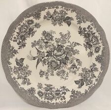 Royal Stafford Washed Out Black Asiatic Pheasant Dinner Plates - Set Of 4 - New