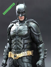 HOT TOYS DARK KNIGHT RISES TDK TDKR ARMORY BATMAN NEW BATSUIT 1/6 PERS EYES NEW