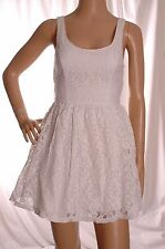 HOLLISTER White laced dress Size 10 UK 38 EUR