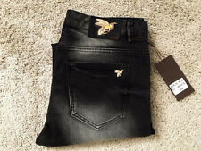 New Gucci Embroidered denim pant $ 1,200 Authenticated SZ 34