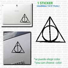 Harry Potter Deathly Hallows pegatina sticker Aufkleber