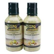 Olive Garden Italian Salad Dressing 20oz 2 Bottles 30 Years Vegetable Dip