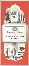 "1962 Sohio ""Vacation Ideas"" for South Western States Travel Booklet"