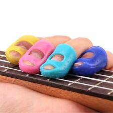 4PCS Guitar Fingertip Protectors Finger Guards For Ukulele Guitar Accessories