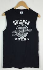 VINTAGE RETRO USA HURRICANES ATHLETIC BASKETBALL SPORTS T SHIRT VEST TOP XS
