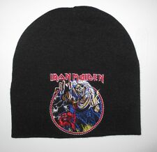 Iron Maiden - 666 The Number of the Beast Beanie Hat Cap Eddie New