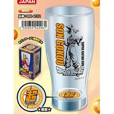 DRAGONBALL GLASS TUMBLER - Super Sayan God Dragon Ball Z Bicchiere NEW!