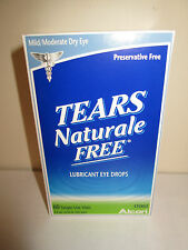 Tears Naturale Free Lubricant Eye Drops, 60 Single-Use Vials