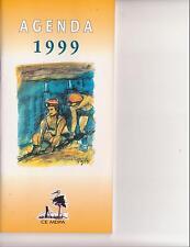 MINES MINEURS AGENDA 1999 DU COMITE D'ENTREPRISE DES MINES DE POTASSE D'ALSACE