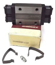 NIB THOMSON CG20CEBP-LLZZ ACCUGLIDE LINEAR BALL BEARING CARRIAGE SIZE: AG20