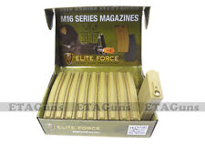10x Elite Force TAN 140 Round MID Cap Capacity M4 M16 Mag Magazine JG SRC G&G TM