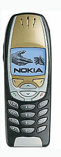 NOKIA 6310i w. NEW 6310 i BLACK - GOLD EDITION IDEAL ALSO FOR FSE IN THE CAR