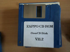 Zappo CD rom OverCDV11.2 Game Original Amiga (disks only) GC booted only