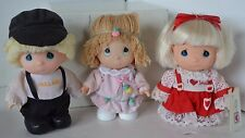 Vintage Precious Moments Doll Mini Miniature Lot 6 Valentine Christmas