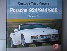 PORSCHE 924 / 944 / 968 *1975-1995* ~MOTORBUCH VERLAG 2006 GERMAN H/B BOOK*RARE*