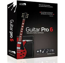 NEW Arobas Music Guitar Pro 6 Tablature Editor PC/MAC