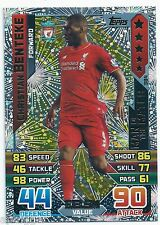 2015 / 2016 EPL Match Attax Man of the Match (384) Christian BENTEKE Liverpool