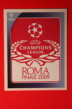 PANINI CHAMPIONS LEAGUE 2008/09 # 562 UEFA CL THE FINAL BLACK BACK MINT!