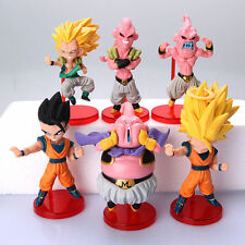 Dragon Ball Z Majin Buu Saga TV Character Anime PVC Action Figures Set 6pcs
