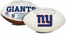 NFL New York Giants Signature Series Team Full Size Footballs
