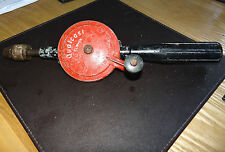 """Vintage 1960-70s Qualcast Clipper Double Pinion Hand Drill England, 12"""""""